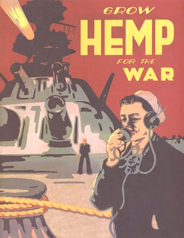 Grow Hemp for Victory Poster
