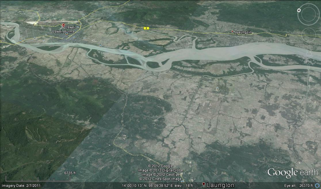 Dawei Special Economic Zone Myanmar Under Construction