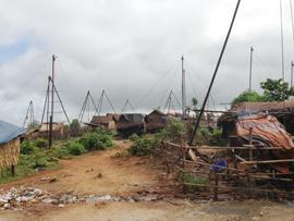 Hand Dug Oil Wells and Derrick Rigs Magwe Myanmar_Image David DuByne 2013