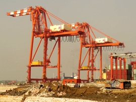 Myanmar Industrial Port Container Terminal 1_ 2014 Image David DuByne