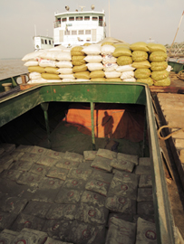 Myanmar Inland Break Bulk Cargo Vessel 2014_Image David DuByne