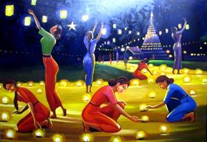 Pansodan Gallery 2013 Yangon Myanmar