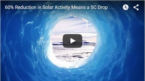 60 Percent Reduction in Solar Activity Means a 5C Drop by 2030