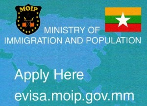 Myanmar E-Visa Ministry of Immigration Registry Online
