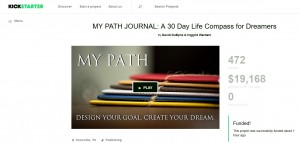 MY PATH Journal successfully funded through Kickstarter