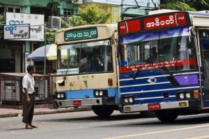 List of Bus Services Operating from Yangon