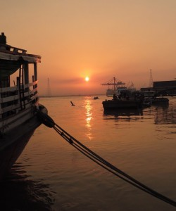 Warden Jetty Sunset Yangon Myanmar 2014_Image David DuByne