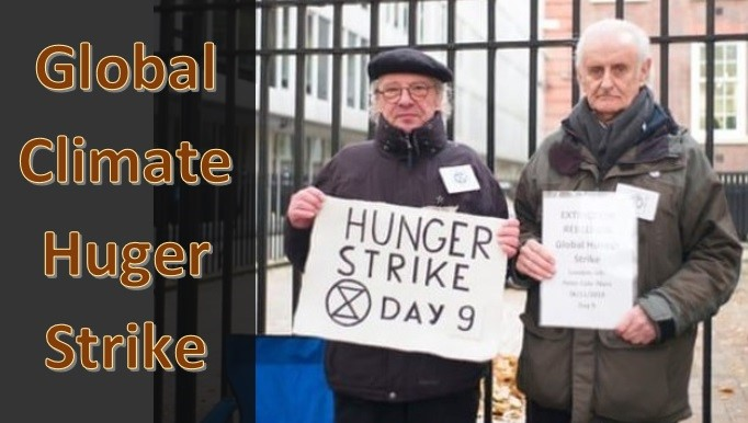 Black Friday Climate Emergency Hunger Strike Official Adapt 2030 Website Keeping Your Families Grand Solar Minimum Prepared